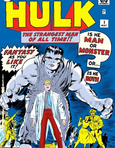 The Incredible Hulk #1 Facsimile Edition - December 2019