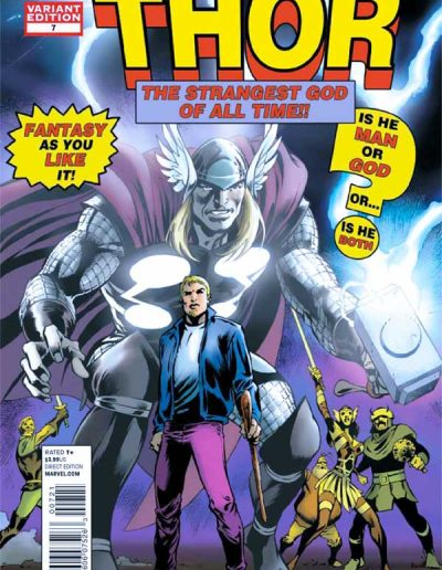 The Mighty Thor #7 (50th Anniversary Variant) - December 2011