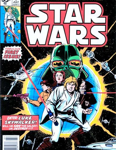 Star Wars #1 ($.35 Variant) - July 1977