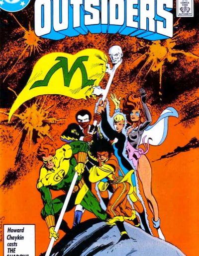 Adventures of the Outsiders #33 - May 1986