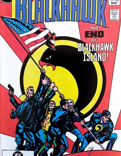 Blackhawk #258 - May 1983