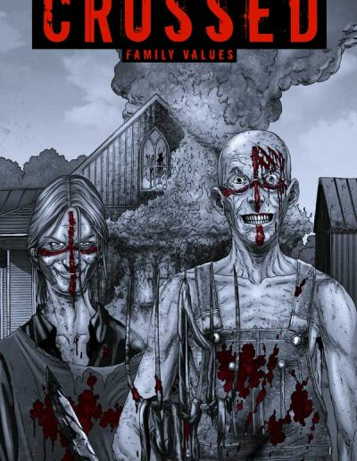 Crossed: Family Values #2 (Incentive Red Crossed Variant) - June 2010