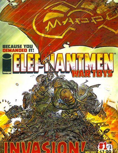 Elephant Men: War Toys #1 - November 2007