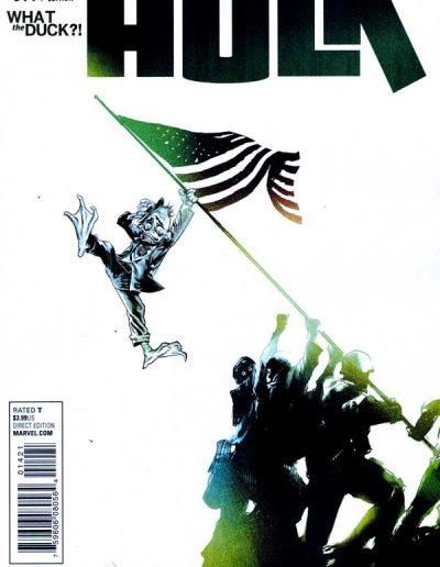 Hulk (Vol 4) #14 (What the Duck?! Variant) - June 2015