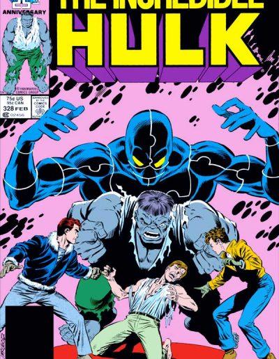 Incredible Hulk #328 - February 1987