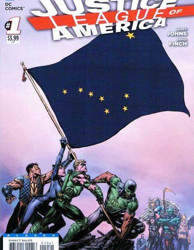 Justice League of America (Vol 3) #1 (Alaska Variant) - April 2013