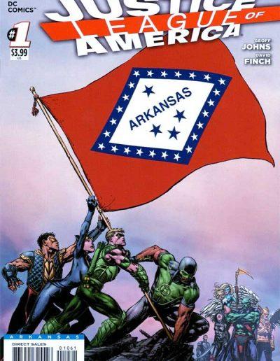 Justice League of America (Vol 3) #1 (Arkansas Variant) - April 2013