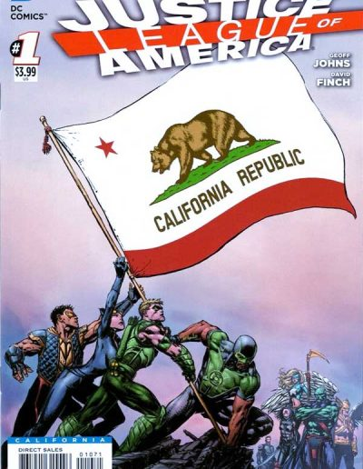 Justice League of America (Vol 3) #1 (California Variant) - April 2013