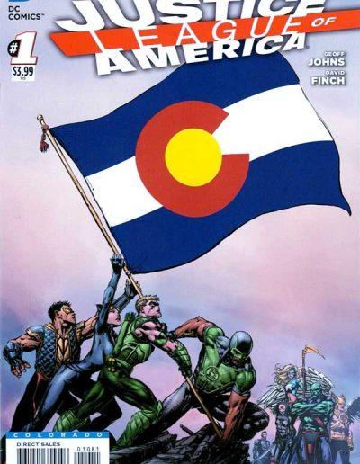 Justice League of America (Vol 3) #1 (Colorado Variant) - April 2013