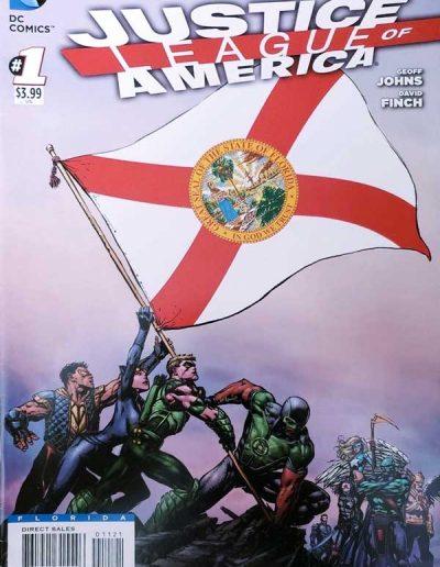 Justice League of America (Vol 3) #1 (Florida Variant) - April 2013