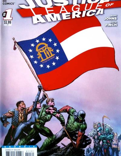 Justice League of America (Vol 3) #1 (Georgia Variant) - April 2013