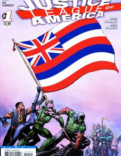 Justice League of America (Vol 3) #1 (Hawaii Variant) - April 2013