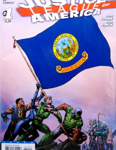 Justice League of America (Vol 3) #1 (Idaho Variant) - April 2013