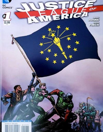 Justice League of America (Vol 3) #1 (Indiana Variant) - April 2013