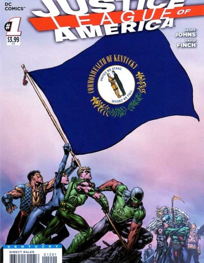 Justice League of America (Vol 3) #1 (Kentucky Variant) - April 2013