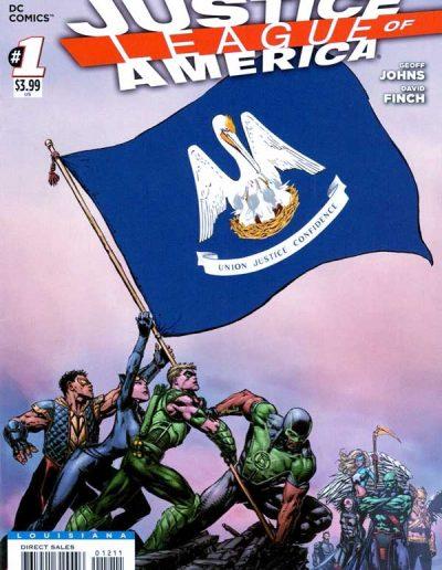 Justice League of America (Vol 3) #1 (Louisiana Variant) - April 2013