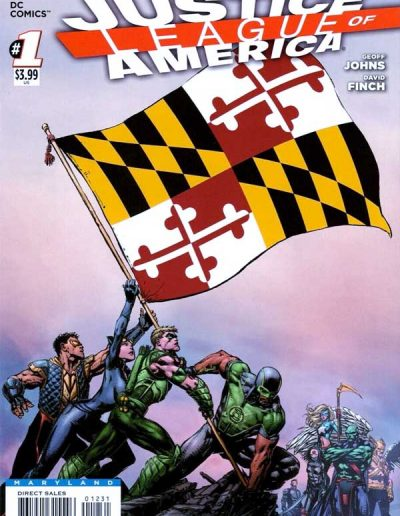Justice League of America (Vol 3) #1 (Maryland Variant) - April 2013
