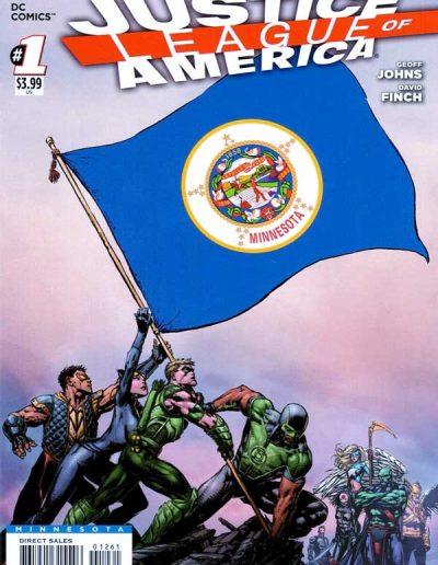 Justice League of America (Vol 3) #1 (Minnesota Variant) - April 2013