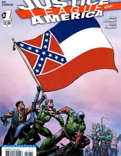 Justice League of America (Vol 3) #1 (Mississippi Variant) - April 2013