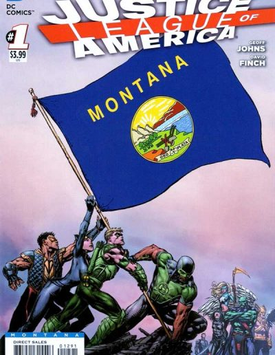 Justice League of America (Vol 3) #1 (Montana Variant) - April 2013