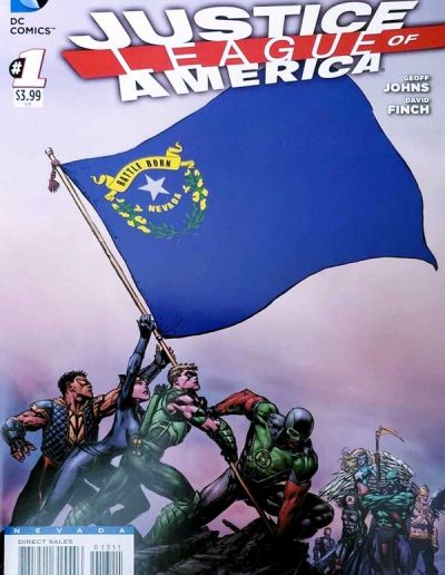 Justice League of America (Vol 3) #1 (Nevada Variant) - April 2013