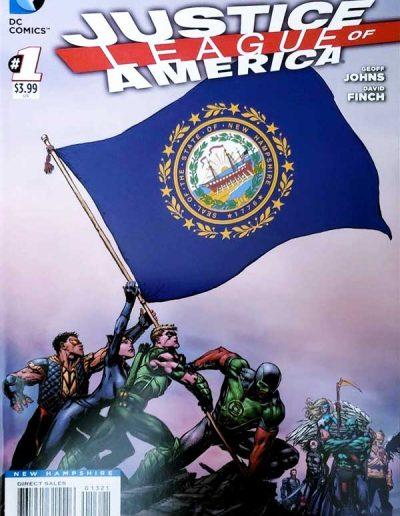 Justice League of America (Vol 3) #1 (New Hampshire Variant) - April 2013