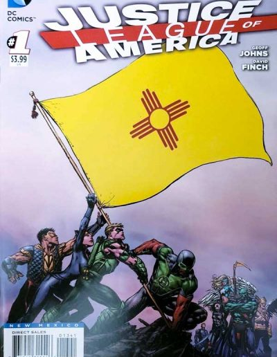 Justice League of America (Vol 3) #1 (New Mexico Variant) - April 2013