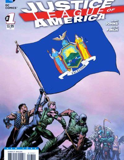 Justice League of America (Vol 3) #1 (New York Variant) - April 2013