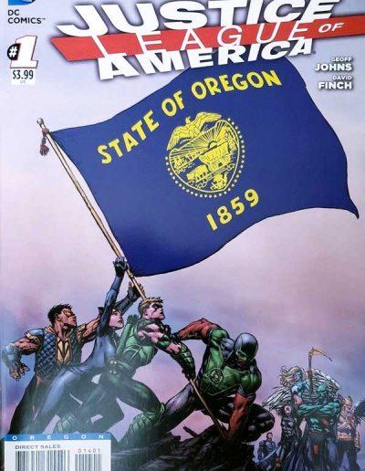 Justice League of America (Vol 3) #1 (Oregon Variant) - April 2013