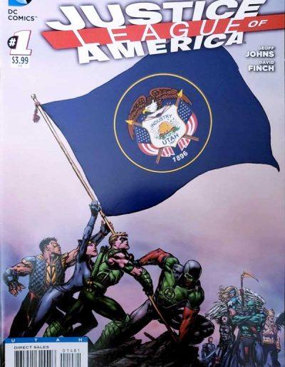 Justice League of America (Vol 3) #1 (Utah Variant) - April 2013