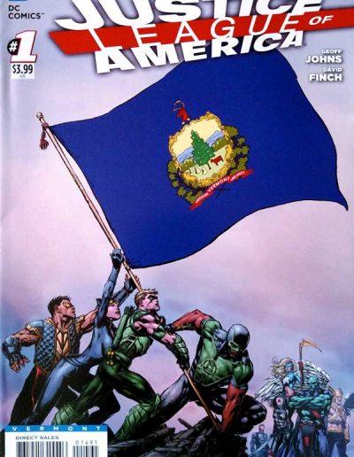 Justice League of America (Vol 3) #1 (Vermont Variant) - April 2013