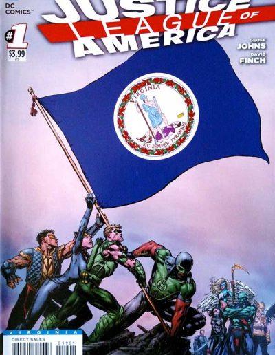 Justice League of America (Vol 3) #1 (Virginia Variant) - April 2013