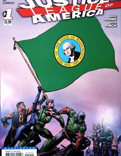 Justice League of America (Vol 3) #1 (Washington Variant) - April 2013