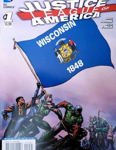 Justice League of America (Vol 3) #1 (Wisconsin Variant) - April 2013