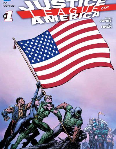 Justice League of America (Vol 3) #1 - April 2013