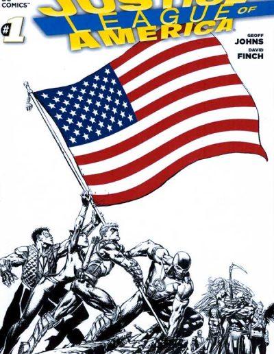 Justice League of America (Vol 3) #1 (Sketch Variant) - April 2013