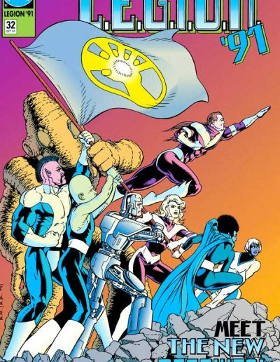 L.E.G.I.O.N. #32 - October 1991