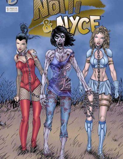 Notti & Nyce (Vol 2) #1 (Walking Dead 19 Homage NICE Variant) - December 2013