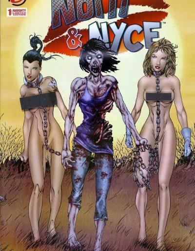 Notti & Nyce (Vol 2) #1 (Walking Dead 19 Homage NAUGHTY Variant) - December 2013