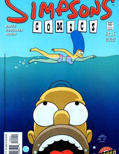 Simpsons Comics #135 - October 2007