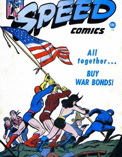 Speed Comics #38 - July 1945