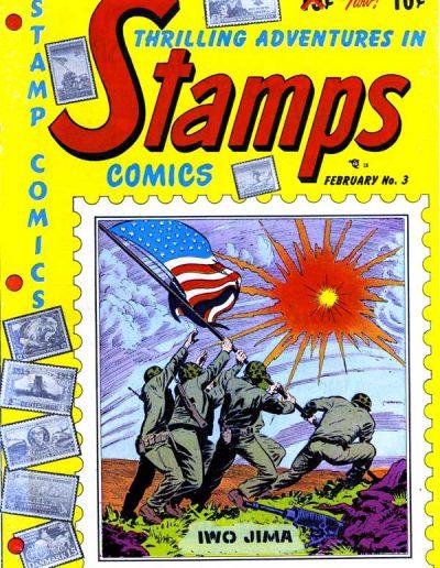 Stamps Comics #3 - February 1952