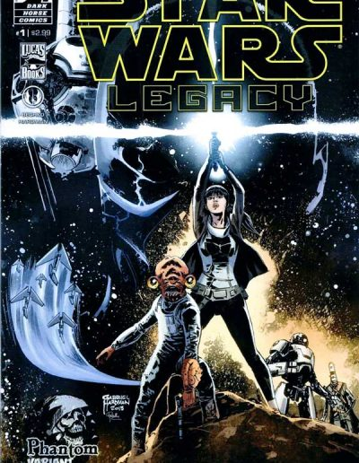 Star Wars Legacy (Vol 2) #1 (Phantom Variant) - March 2013