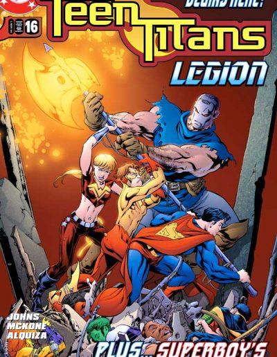 Teen Titans (Vol 3) #16 - November 2004