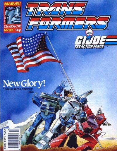 Transformers (UK) #301 - December 1990