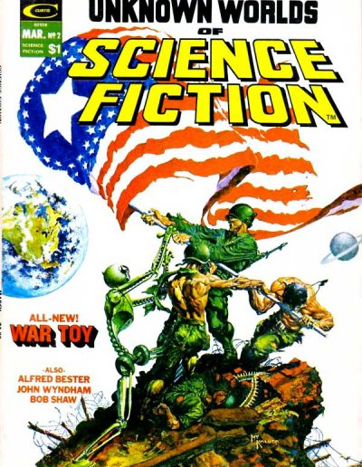Unknown Worlds of Science Fiction #2 - March 1975
