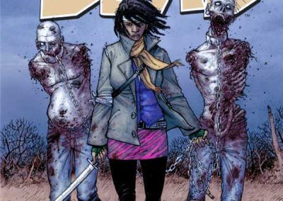 The Walking Dead #19 Homage Covers