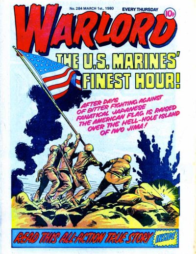 Warlord #284 (UK) - March 1990