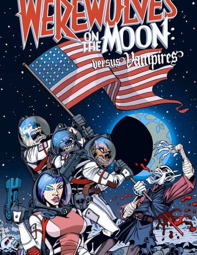 Werewolves on the Moon: Versus Vampires (Graphic Novel) - March 2010