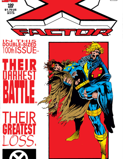 X-Factor #100 (Newsstand Variant) - March 1994